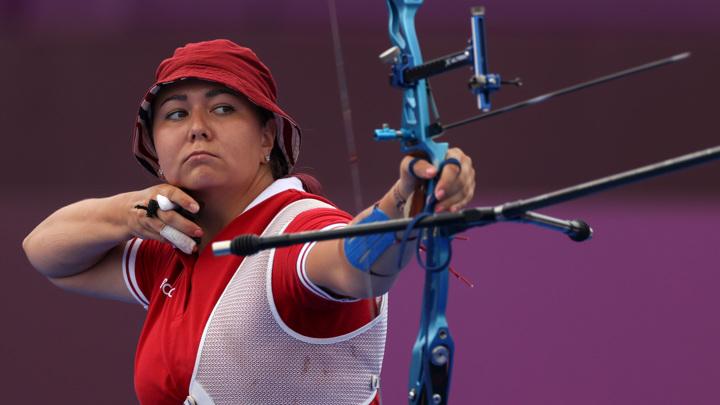 Елена Осипова завоевала серебряную медаль в стрельбе из лука