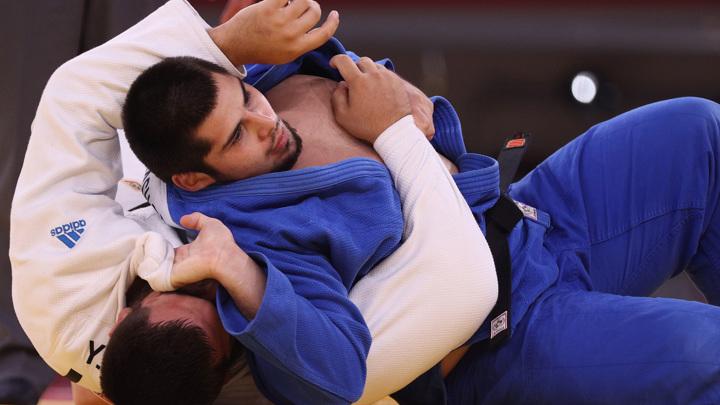 Тамерлан Башаев выиграл бронзу в соревнованиях дзюдоистов