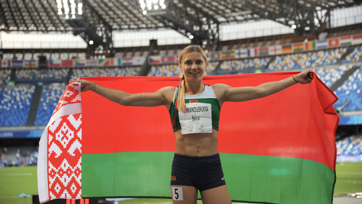 Перенервничала: Тимановская объяснила скандал на Олимпиаде