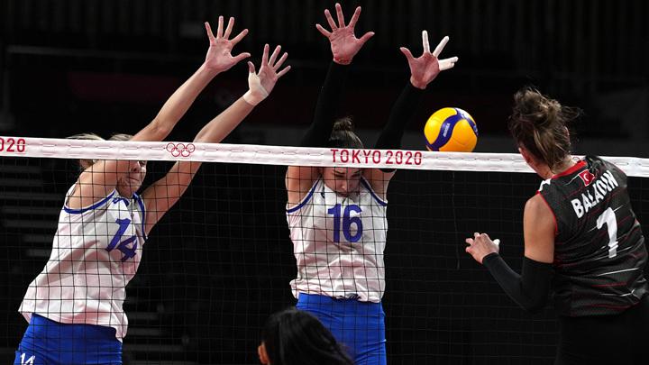 Игры-2020. Российские волейболистки проиграли турчанкам