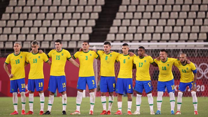 Бразильские футболисты вышли в финал олимпийского турнира