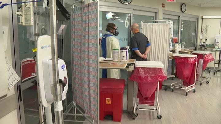 Коронавирус в США: уже зафиксировано более 35 миллионов заболевших