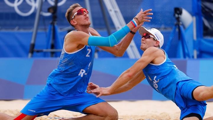 Пляжные волейболисты Лешуков и Семенов остались без полуфинала Игр