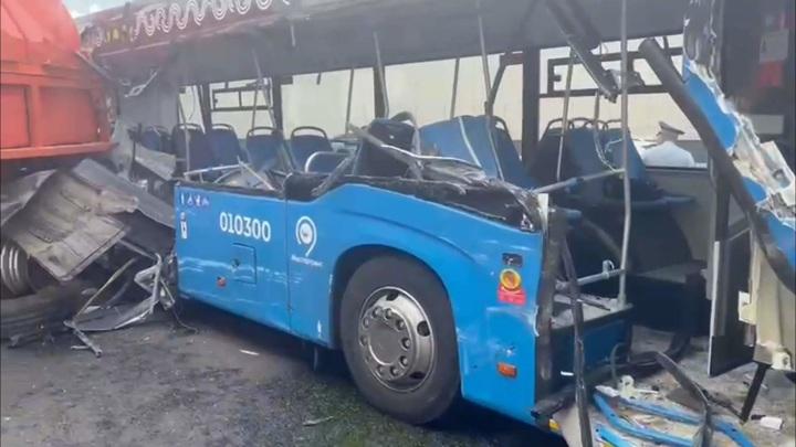 Число пострадавших в ДТП с московским автобусом увеличилось до 13