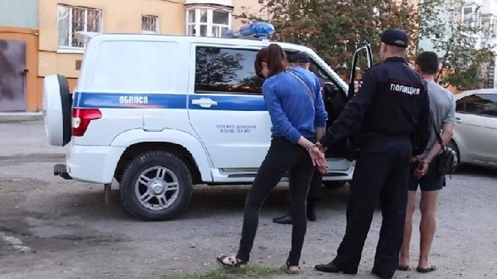 В Тюмени задержали молодую пару наркозакладчиков