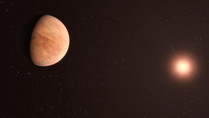 Так художник представляет себе L 98-59b - экзопланету системы L 98-59.