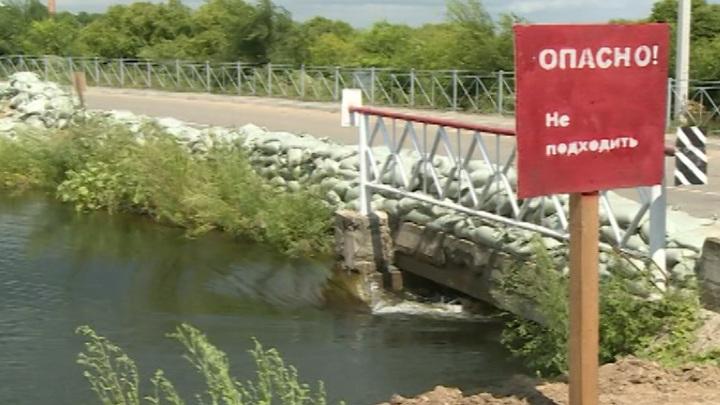 Угроза эвакуации: в ЕАО стихия разрушает гидротехнические сооружения