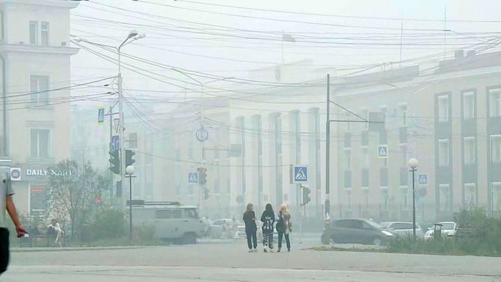 Превышение ПДК химических веществ в 22 раза выявлено в воздухе Якутска