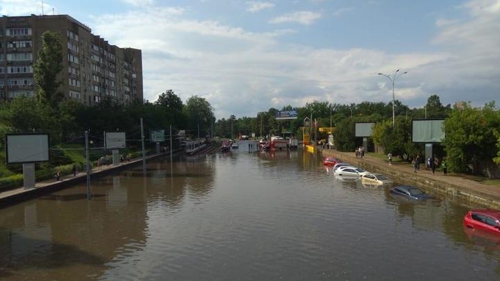 На Кубани из-за дождя подтопило 82 дома