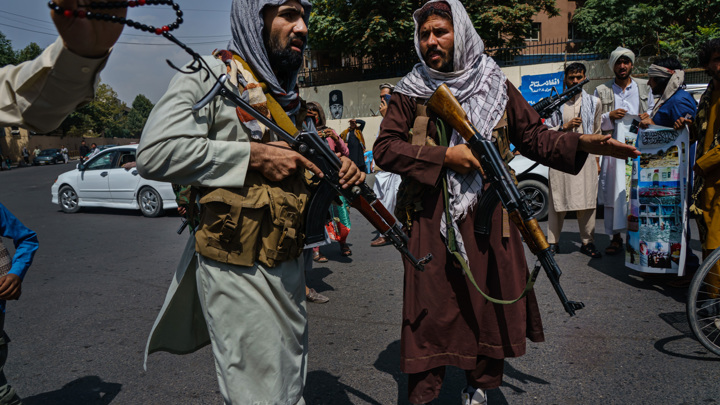 Талибы разогнали демонстрацию женщин в центре Кабула