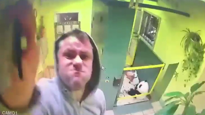 Житель московского дома избил соседа, задавил его собаку и напал на камеру