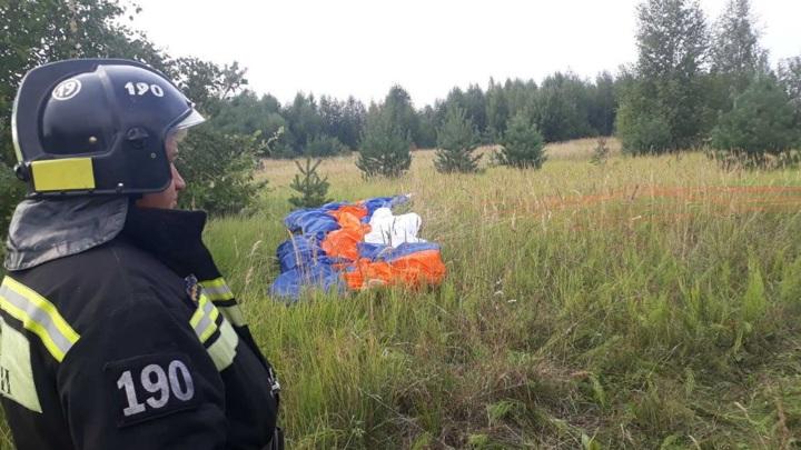 В Крыму два парапланериста столкнулись во время полета