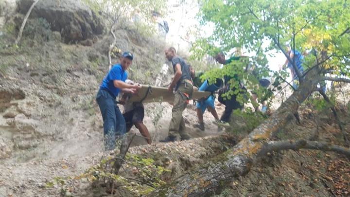 В Татарстане женщина погибла, сорвавшись со скалы