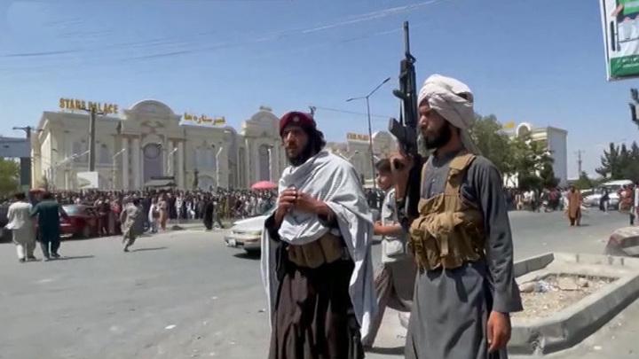Несколько единиц военной техники США оказались в руках талибов