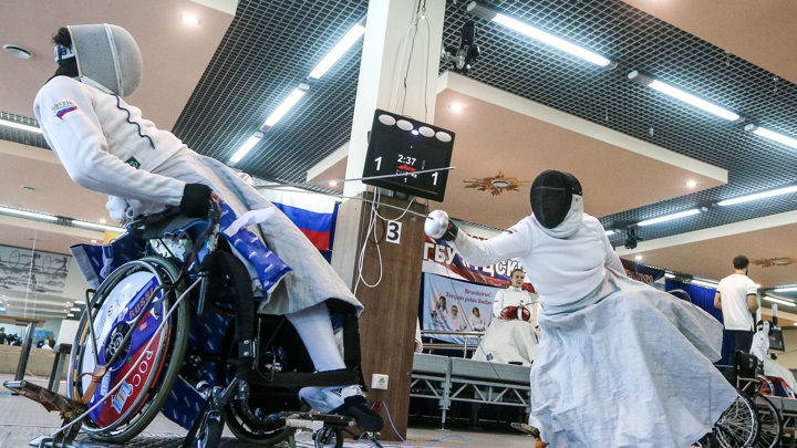Шпажист Кузюков – шестой российский чемпион Паралимпиады-2020