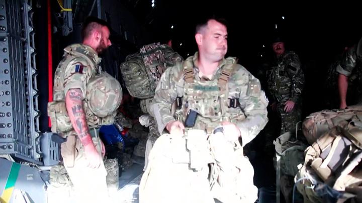 Как талибы праздновали победу над американцами