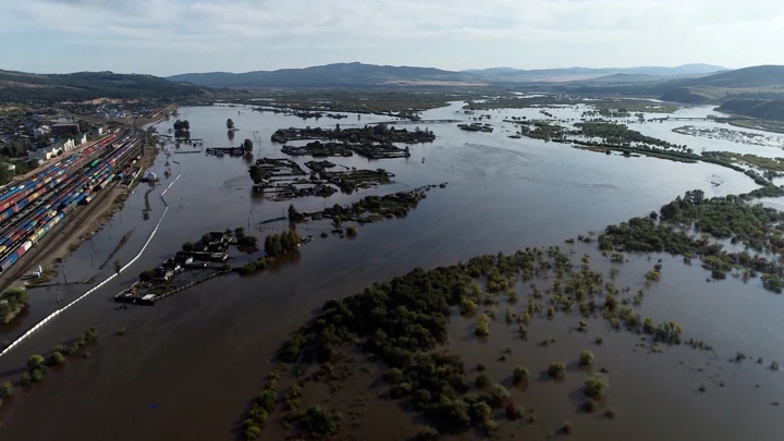 Минприроды назвало убытки от наводнений в России