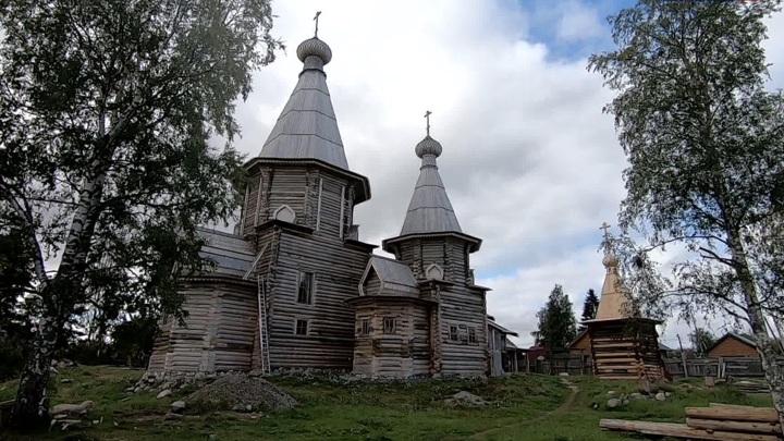 В Кеми отреставрировали собор Успения Пресвятой Богородицы