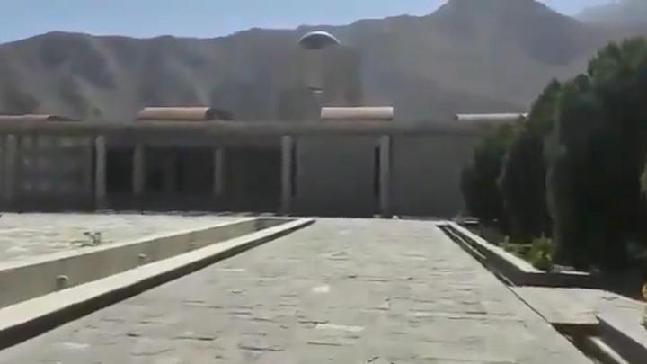 Талибы захватили мавзолей отца лидера сопротивления