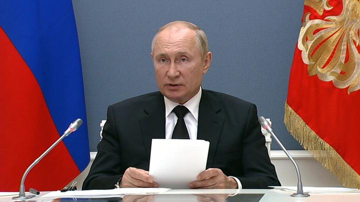 Путин: РФ не допустит оправдания планов преступников, развязавших II мировую войну