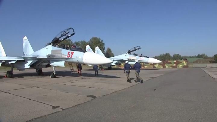 Российские истребители вылетели на охрану границ Белоруссии