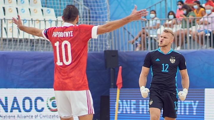 Пляжный футбол. Сборная России проиграла Белоруссии в матче Евролиги