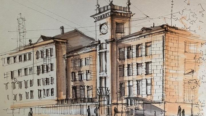 Рисунок ивановской ученицы появится в виде почтовой открытки