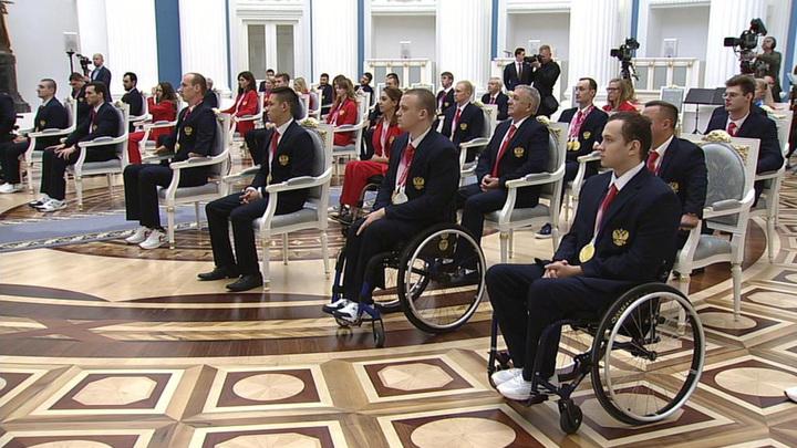 Путин: судьбы российских паралимпийцев – хорошая основа для книг и фильмов
