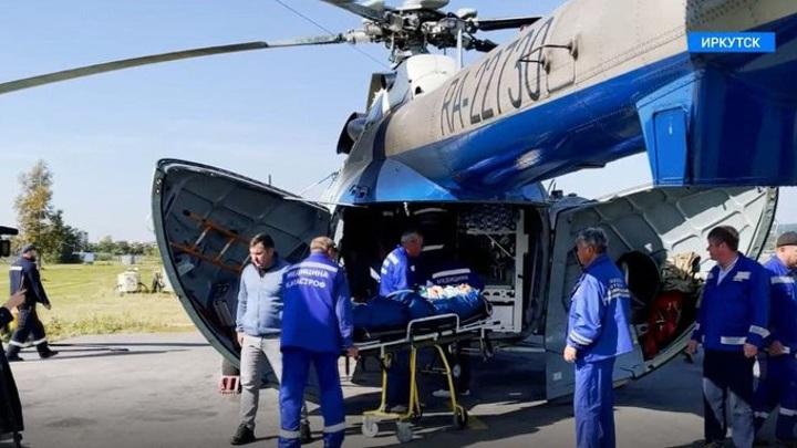 На лечение в Иркутск доставили еще четверых пострадавших при крушении самолета
