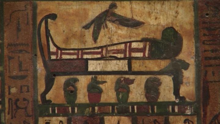 """Две выставки из серии """"Египет в Эрмитаже"""" открыли в Зимнем дворце"""