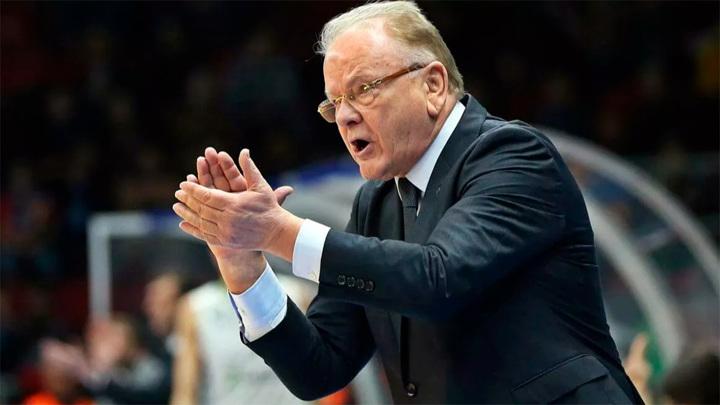 Экс-тренер баскетбольного ЦСКА Ивкович умер в возрасте 77 лет