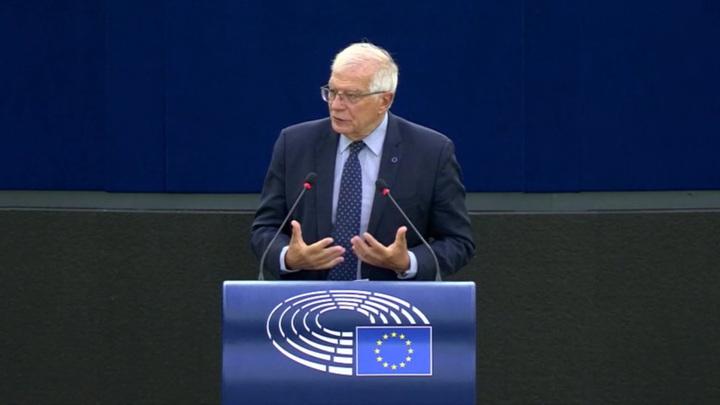 Европарламент принял доклад, усиливающий противостояние с Россией