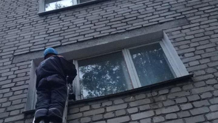 Пензенские спасатели помогли врачам скорой попасть в дом к пенсионерке