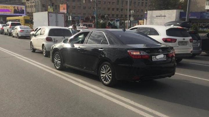 24-летний сибиряк на машине сбил ребенка в центре Новосибирска
