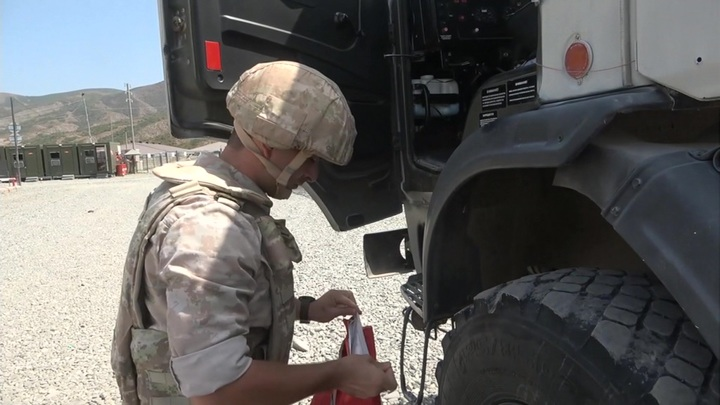 Миротворцы РФ провели патрулирование пяти маршрутов в Нагорном Карабахе