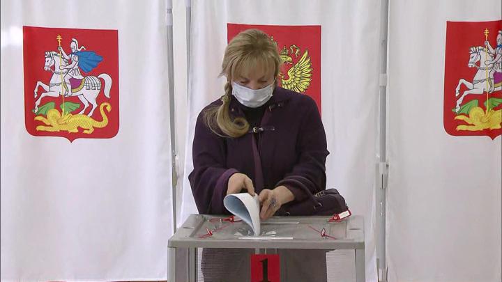 Председатель ЦИК проголосовала в Подмосковье