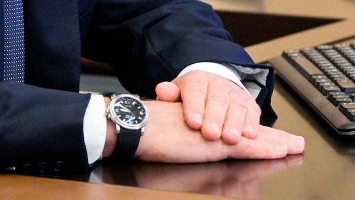 Песков объяснил другую дату на часах Путина во время голосования