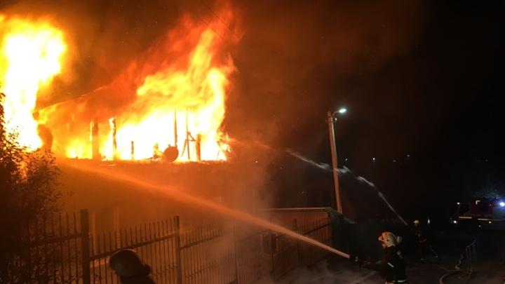 Крупный пожар ликвидировали во Владимирской области