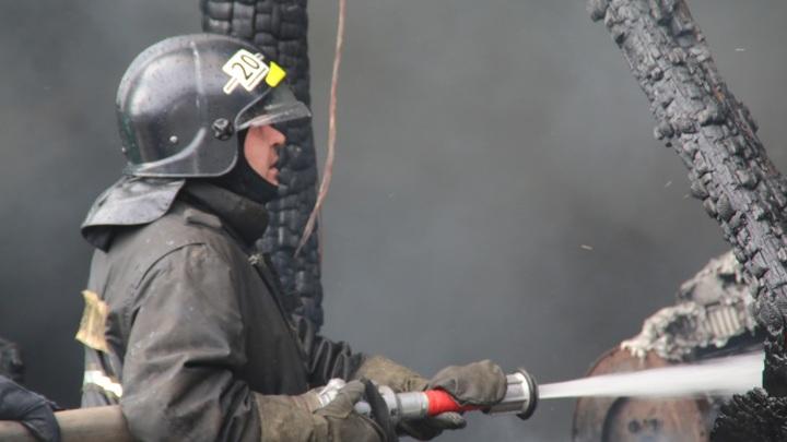 В Мурманской области сгорел дом
