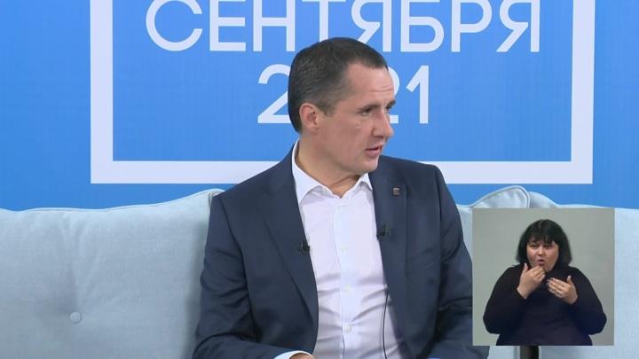 Врио губернатора Белгородской области Вячеслав Гладков сохраняет лидерство на выборах главы региона