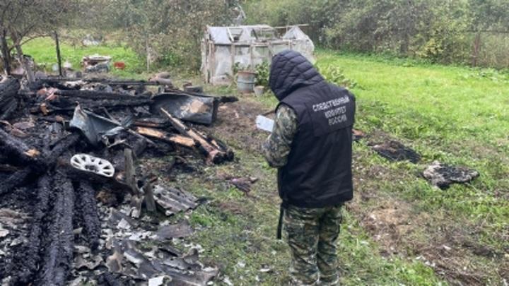 СК возбудил дело после гибели двух человек в пожаре в Тверской области