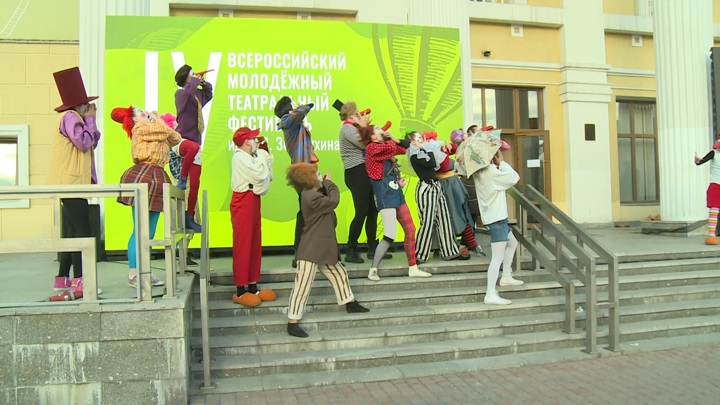 В Барнауле проходит молодежный фестиваль имени Валерия Золотухина