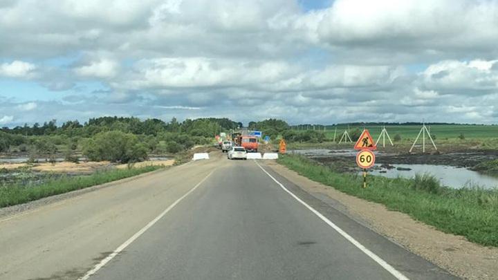 Проезд открыт: в Приамурье возобновилось движение ко всем подтопленным селам