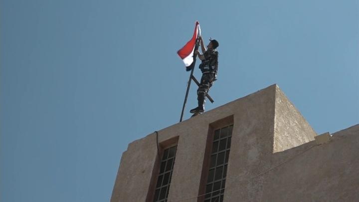 Боевики сдали оружие в поселке Эль-Музейриб в Сирии