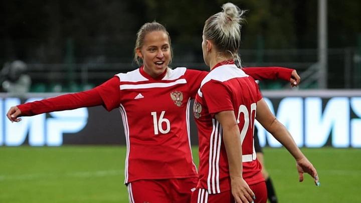 Россиянки разгромили черногорок в отборе чемпионата мира по футболу