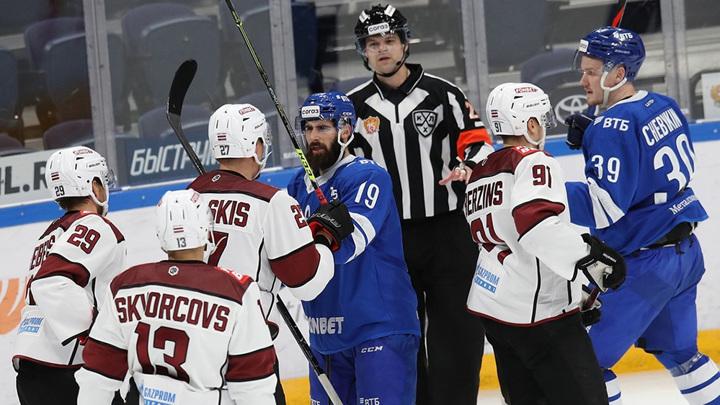 Хоккейная Москва была сильнее Риги в динамовском дерби