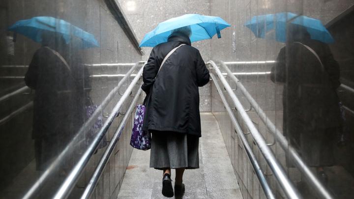 На центральную Россию обрушились сильные дожди