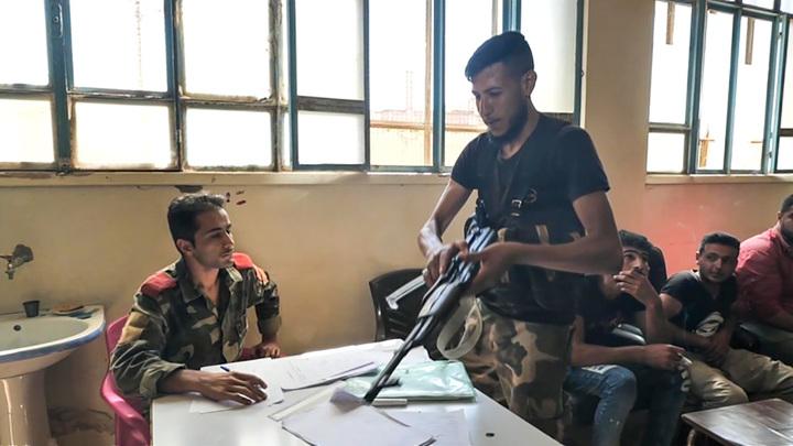 В Сирии сдались более тысячи боевиков