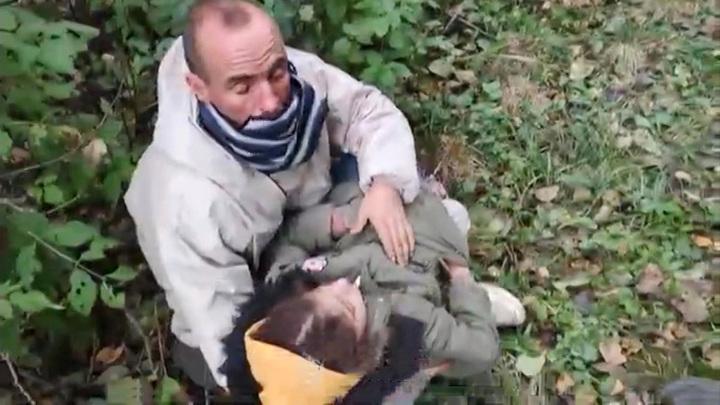 Обезвоженных детей с травмами нашли на границе Белоруссии с Польшей