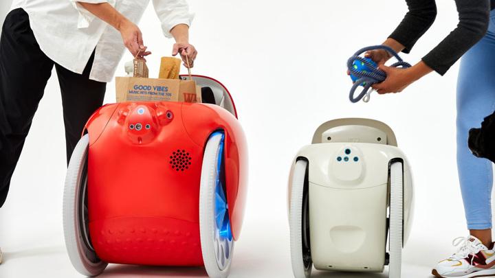 Представлен робот-чемодан, самостоятельно следующий за владельцем
